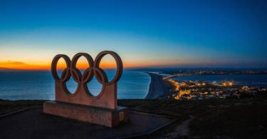 Olympia, Olympiade, olympische Ringe, Olympia 2020