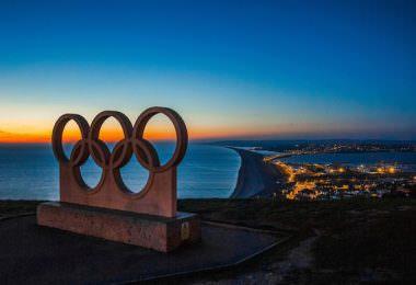 Olympia, Olympiade, olympische Ringe, Olympia 2020