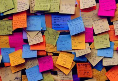 Post it, Post-it, Post-Its, Klebezettel, Brainstorming