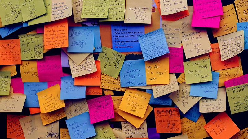Post it, Post-it, Post-Its, Klebezettel, Brainstorming