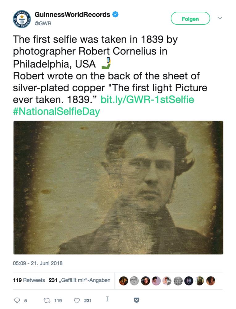 Robert Cornelius, Guiness World Records