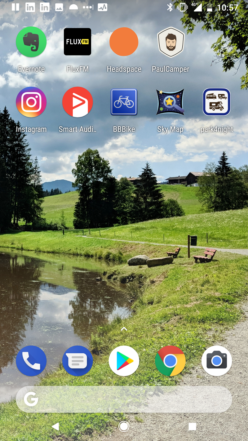 Homescreen Dirk Fehse Paul Camper