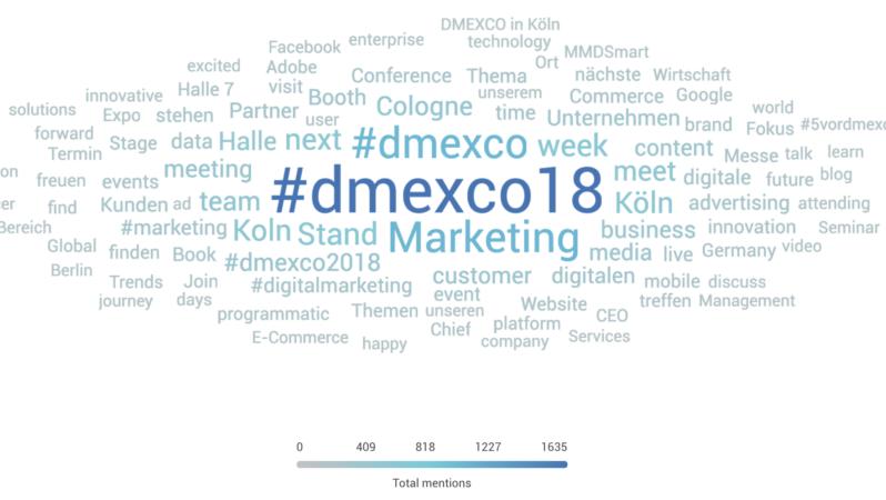 #dmexco18: Themen und Social-Trends zur wichtigsten Digitalmesse