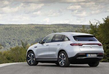 EQC Mercedes-Benz Landschaft