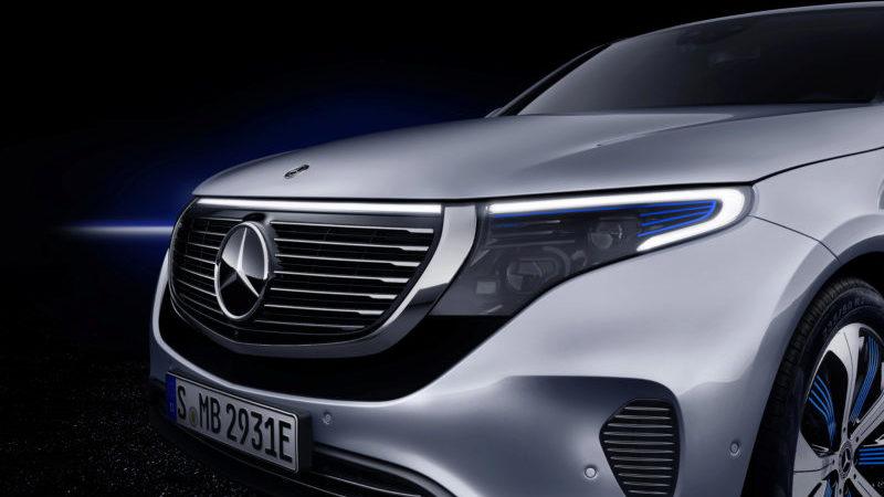 EQC Mercedes-Benz Nahaufnahme
