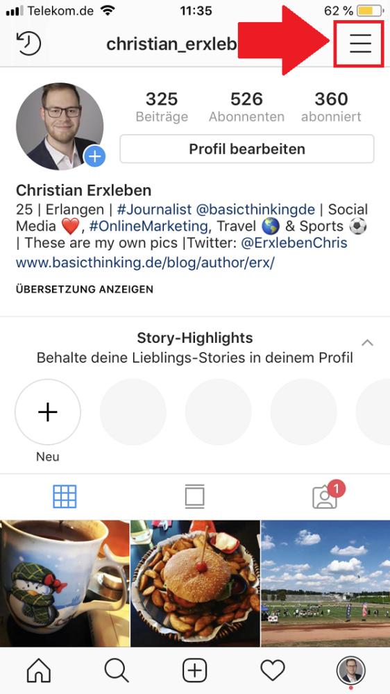 Instagram, Instagram-Verifizierung beantragen, blauer Haken Instagram, Verifizierung bei Instagram