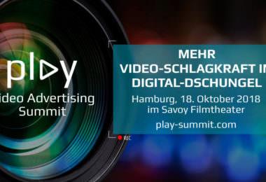 Play Video Advertising Summit, Hamburg