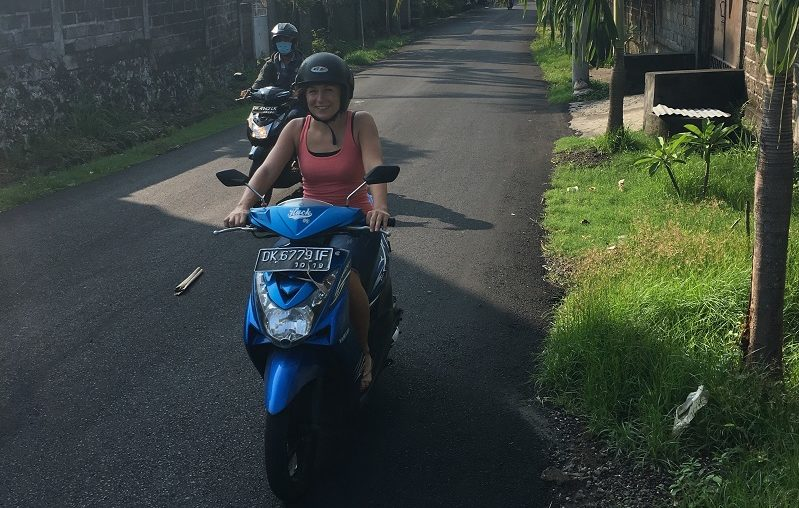 Vera Ruttkowski Motorrad