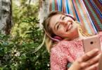 Smartphone, Lebensdauer, Hängematte