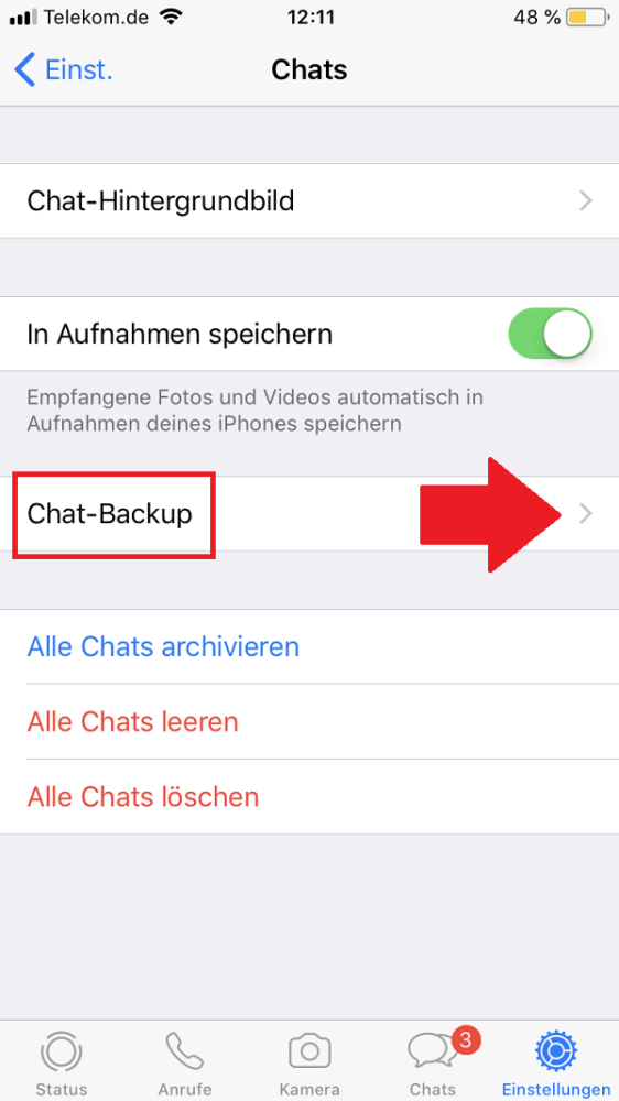 WhatsApp-Backup erstellen, WhatsApp, WhatsApp Backup erstellen, WhatsApp Backup anlegen