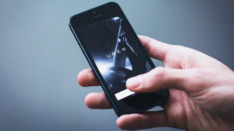 Uber Applikation Smartphone