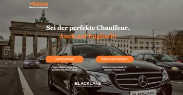 Blacklane Babbel Kooperation