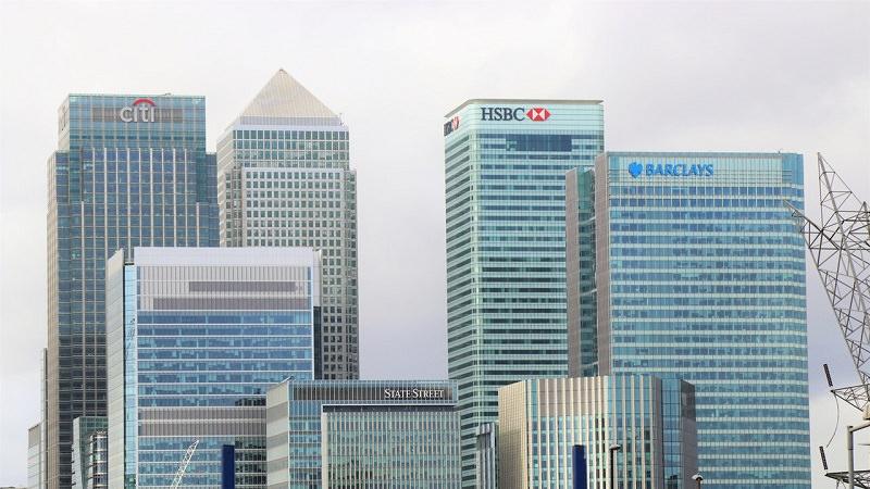 Banken, Geldhäuser, Finanzbranche, Geldinstitut