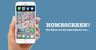 Johannes Lenz, Messenger People, Homescreen
