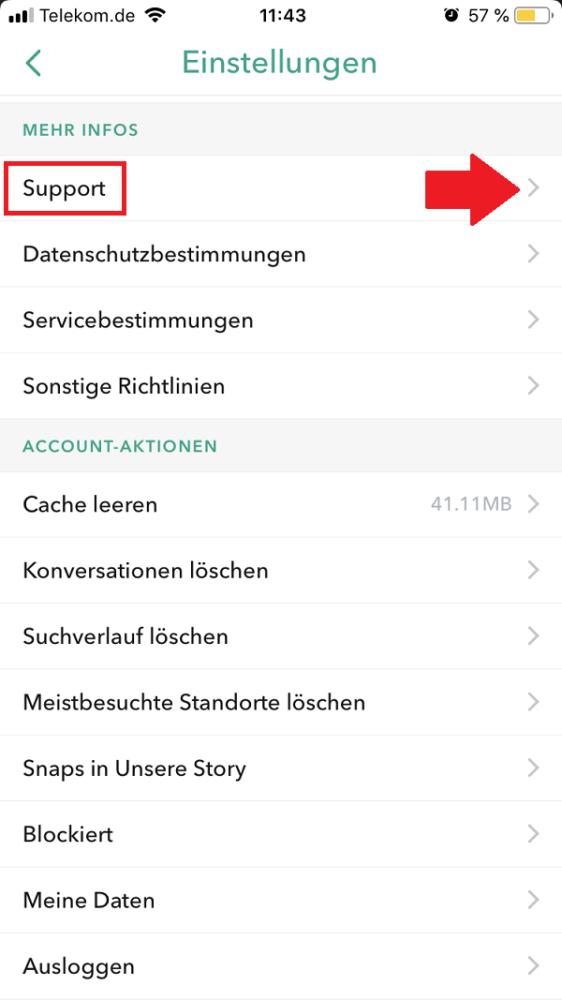 Snapchat, Snap, Snapchat löschen, Snapchat-Account löschen