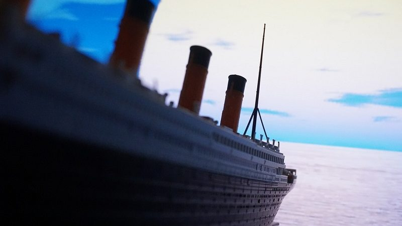 Titanic Schiff Meer