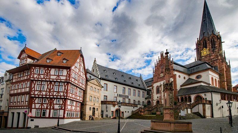Aschaffenburg Altstadt Collegiate Basilicata