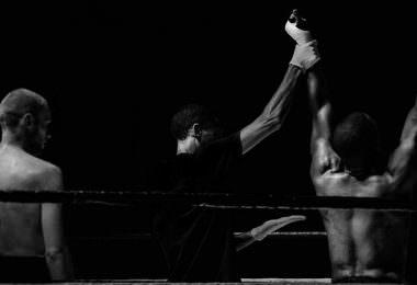 Boxer, Boxkampf, Ring, Sieger, Gewinner, Vertragsrecht