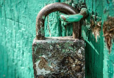 Schloss, Vorhängeschloss, Instagram-Passwörter, Datenschutz