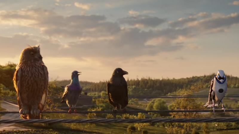 EnBW lustige Vögel Video E-Mobilität