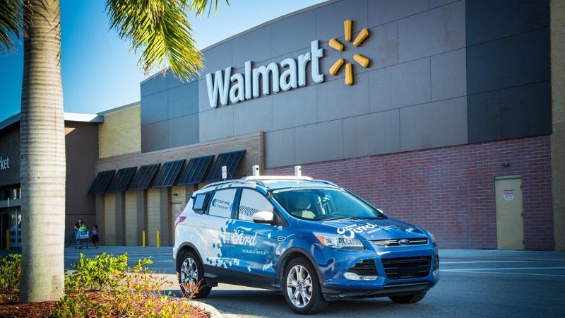 Walmart Postmates Ford autonomer Lieferdienst