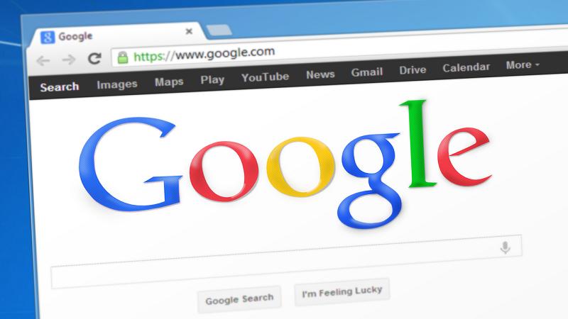 Google Suchmaschine Homepage