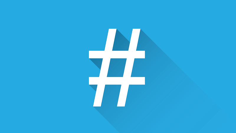 Hashtag, Hashtags, Raute, Twitter, erfolgreiche Tweets