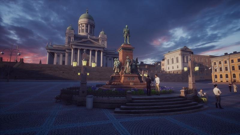 Virtual Helsinki Senatsplatz