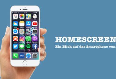 Malte Fleuter, Social Media Specialist, Hamburg, Homescreen