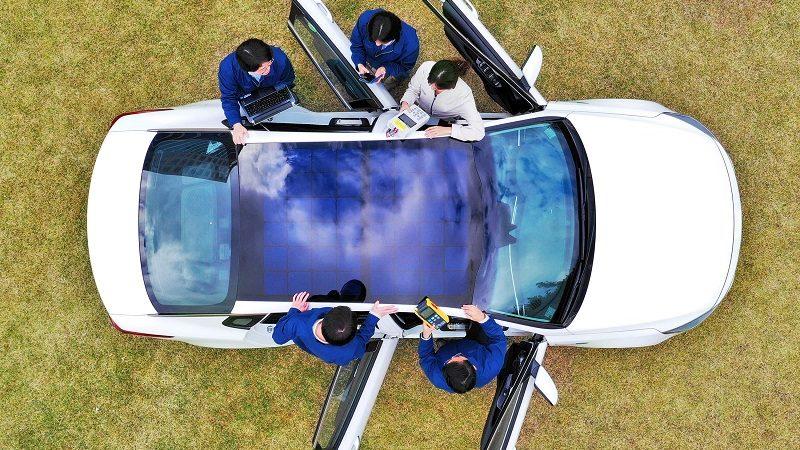Hyundai Solardach