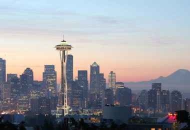 Seattle, Skyline, Headquarter, Amazon, Amazon als Arbeitgeber