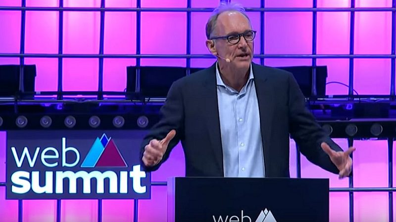 Tim Berners-Lee, Web Summit, digitale Zukunft, WWW, neues Internet