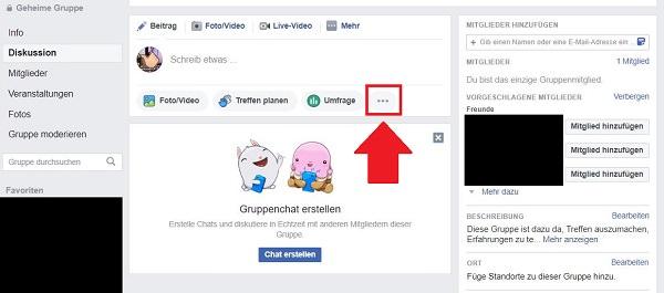 Facebook, Watch Party, Gruppen-Stream