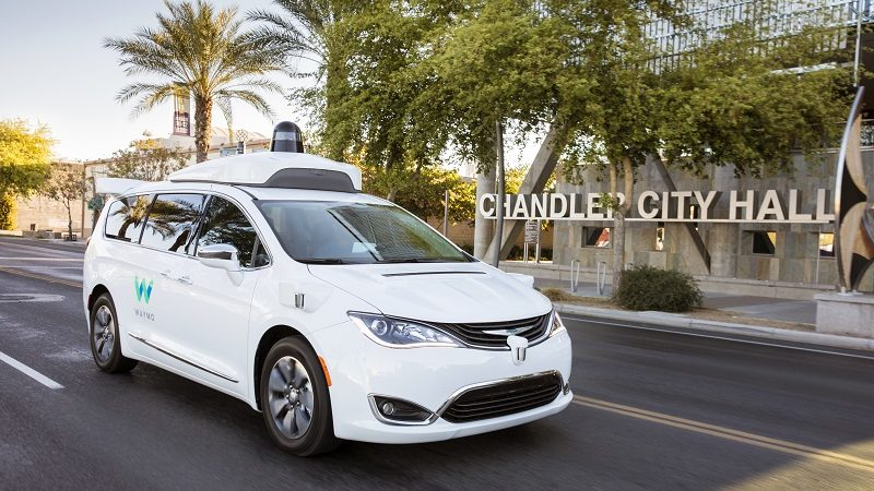 Waymo Chrsyler Minivan autonomes Fahren