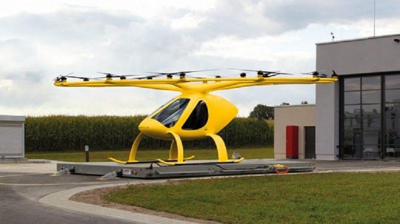 ADAC Luftrettung Volocopter Multikopter Rettungsdienst