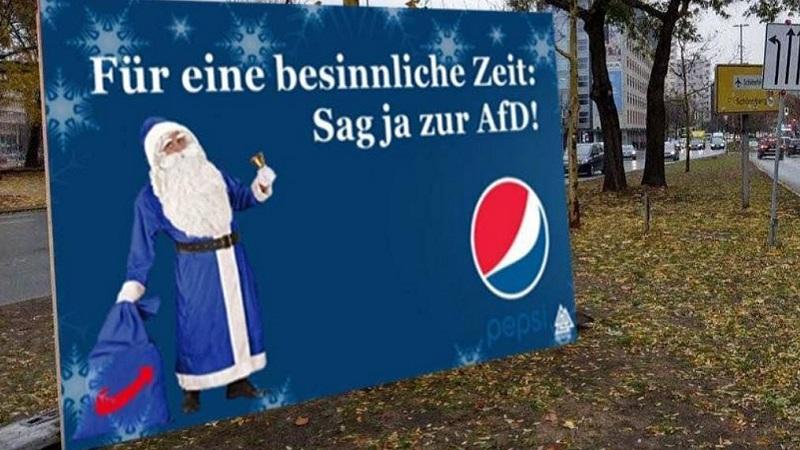 Pepsi, AfD, Alternative für Deutschland, Coca-Cola