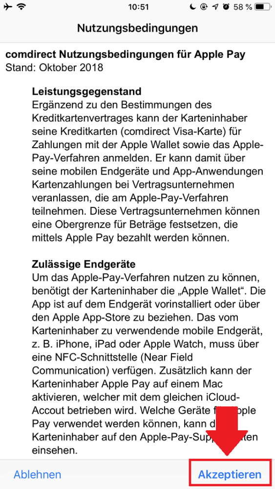 Apple Pay einrichten, Apple Pay Karte hinzufügen, Apple, Apple Pay, Apple Pay Deutschland