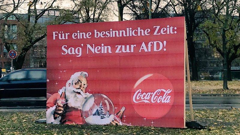 Coca-Cola, Weihnachten, AfD, Alternative für Deutschland