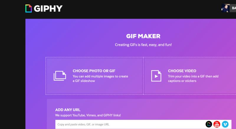 Giphy, GIF-Sticker