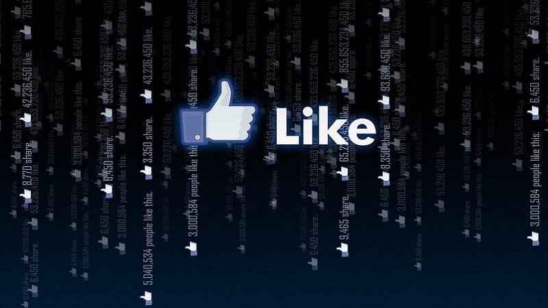 Like, Facebook, Gefällt mir, Facebook-Suche