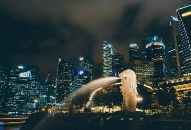 Singapur, Malysia, Stadt, Arbeitnehmer