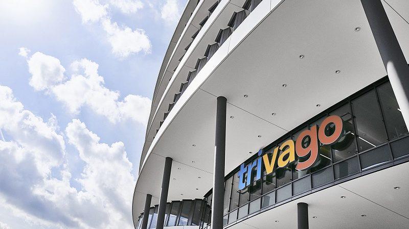 Trivago Unternehmenszentrale Düsseldorf Logo