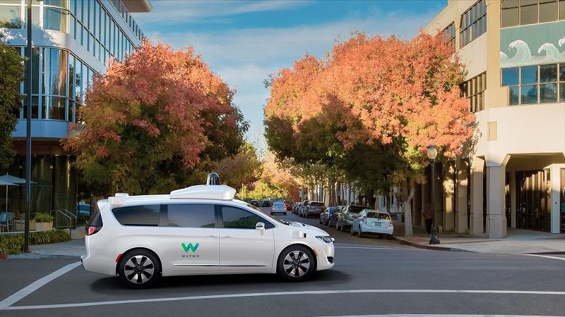 Waymo fahrerloses Auto Minivan