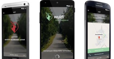 Wuidi Wildwarner App Screenshot Android