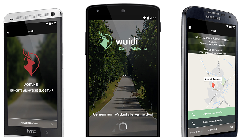Wuidi Wildwarner App Screenshot Android