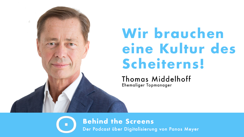 Thomas Middelhoff, Panos Meyer, Behind the Screens