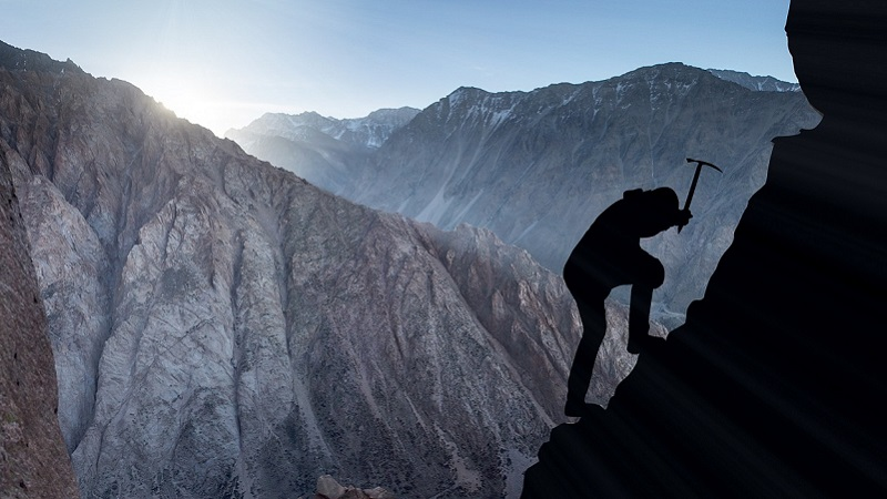 Bergsteiger, Klettern, Berge, Newcomer