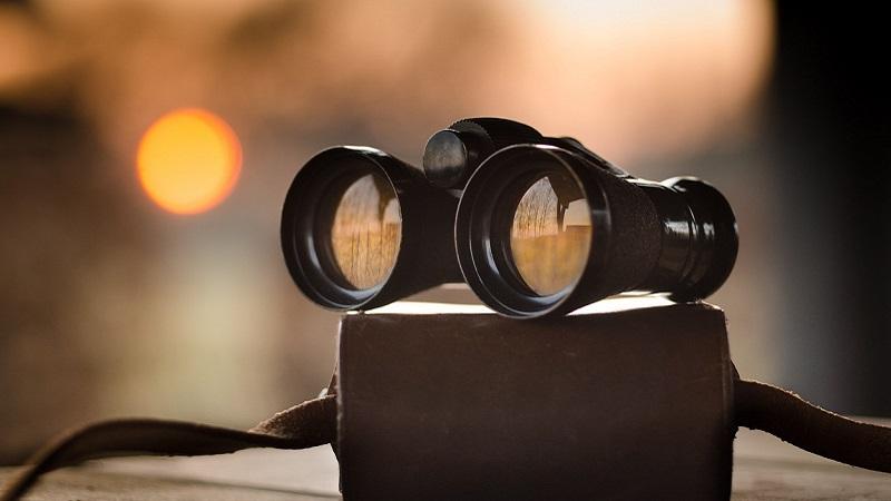 Fernglas, Fernrohr, Feldstecher, Ausblick, Marketing-Trends