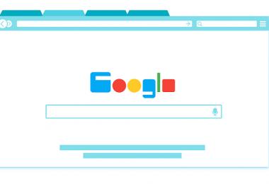 Google, Suchmaschine, Zeichnung, Google-Keywords, Google Core Update, Google Core Algorithmus