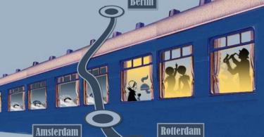 Jazz Night Express Illustration